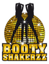 BootyShakerzz Logos Black Yellow